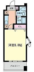 神奈川県相模原市南区古淵4の賃貸マンションの間取り
