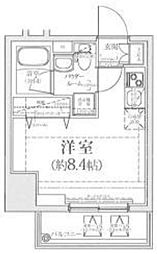 神奈川県横浜市西区浅間町5丁目の賃貸マンションの間取り