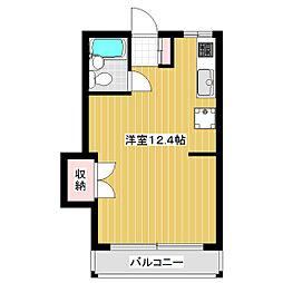 石沢ビル[2階]の間取り