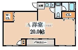 ヤサカパートII[2階]の間取り