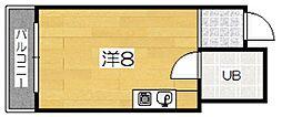 東海ハウス[3階]の間取り