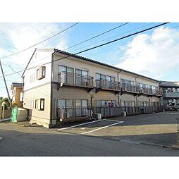 茨城県つくば市並木3丁目の賃貸アパートの外観