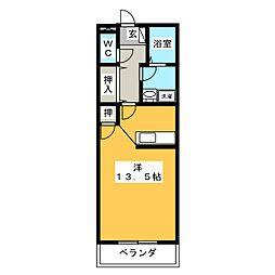 MYTHOS[2階]の間取り