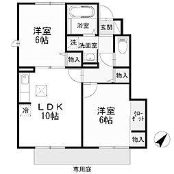 GRAND SOREIL[1階]の間取り