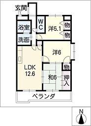 モネ水草[2階]の間取り