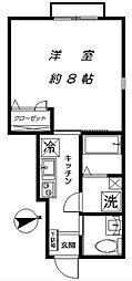 下北沢テラス3号棟[1階]の間取り