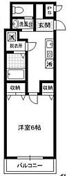 COMO28[406号室号室]の間取り