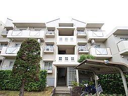 茨城県つくばみらい市絹の台3丁目の賃貸マンションの外観