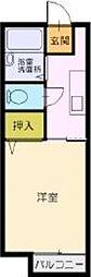ノヴァ幕張[2階]の間取り