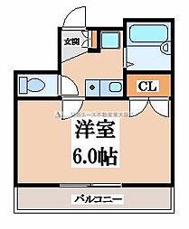 ツインクル[3階]の間取り
