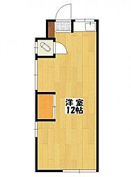 栄和荘[1階]の間取り