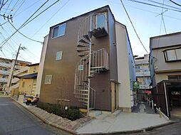 東京都足立区西新井本町2丁目の賃貸アパートの外観