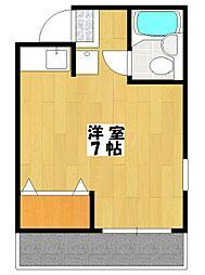 プラムマンション[3階]の間取り