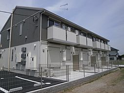 千葉県木更津市万石の賃貸アパートの外観