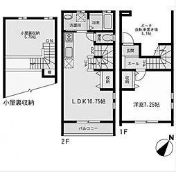 M`sSecond[1階]の間取り