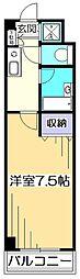 東京都国分寺市本多5丁目の賃貸マンションの間取り