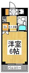 セジュール・ド・ミワ参番館[4階]の間取り