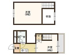 千寿シークVI[4階]の間取り