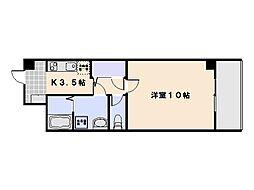 ティニーMatsuyama[403号室]の間取り