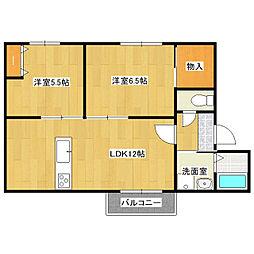 メイハウス[2階]の間取り
