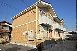 大阪府八尾市中田5丁目の賃貸アパートの外観