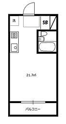 メゾン・アトレ[3階]の間取り