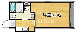 マルティ円町(ドーリアKYOTO円町)[4-A号室号室]の間取り