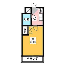 三和園[3階]の間取り