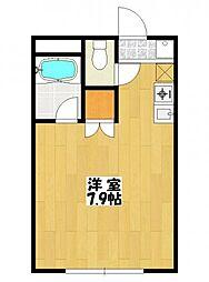 AKマンションII[1階]の間取り
