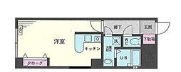 神奈川県横浜市南区南吉田町3丁目の賃貸マンションの間取り