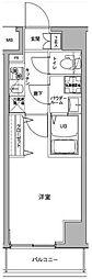 ジェノヴィア川崎駅グリーンヴェール[4階]の間取り