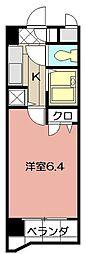 ライオンズマンション小倉駅南第2 403[203号室]の間取り