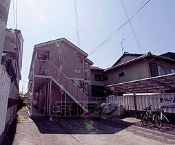 京都府京都市左京区下鴨北園町の賃貸アパートの外観