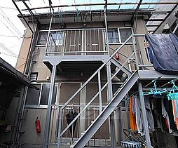 京都府京都市下京区中之町の賃貸アパートの外観
