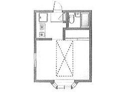 グレイスメゾン[2階]の間取り