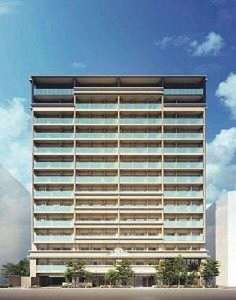 ディームス品川南大井[6階]の外観