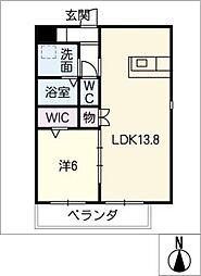 仮)四軒家マンション[3階]の間取り