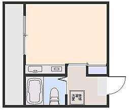ドミール本庄[303号室]の間取り