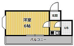 メゾン甲子園[4階]の間取り