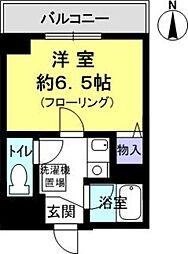 藤の棚ハイツ[3階]の間取り