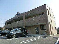 愛知県あま市方領屋敷の賃貸アパートの外観