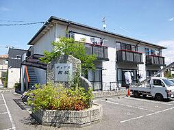 愛媛県松山市和泉南5丁目の賃貸アパートの外観