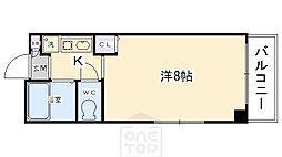 SHIKATA SEPT BLDG[901号室]の間取り
