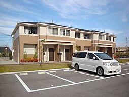 兵庫県加東市南山2丁目の賃貸アパートの外観
