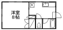 メゾンかわさき[2階]の間取り