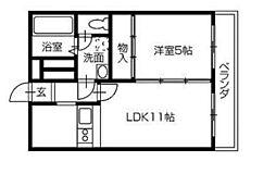 ADDRESS HARIMAYA〜アドレスハリマヤ〜[4階]の間取り