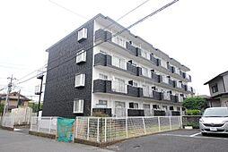 埼玉県越谷市北越谷2丁目の賃貸マンションの外観
