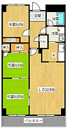 ニチゴマンション2[302号室]の間取り
