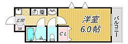 ステラハウス1[1階]の間取り