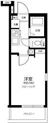 メゾン・ド・ソレイユ三ノ輪 2階1Kの間取り
